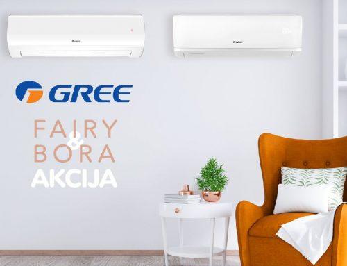 Akcija GREE Fairy i Bora